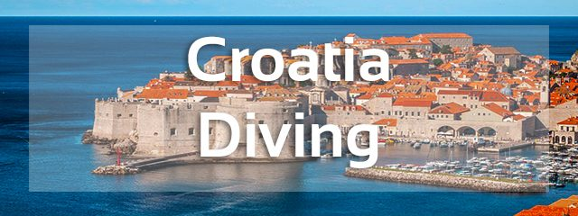 croatia diving banner