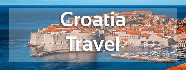 croatia travel banner
