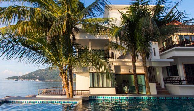 simple life cliff view dive resort koh tao