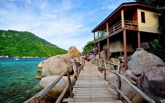 nanguyan island dive resort koh tao thailand