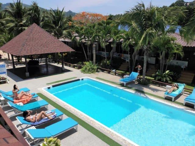 assava dive resort koh tao thailand