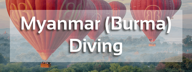 myanmar diving destination south east asia