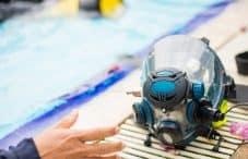 full face scuba diving mask intégral plongée snorkeling